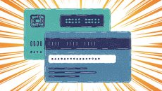 Credit cards illustration