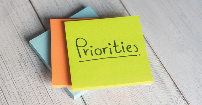 priorities notes