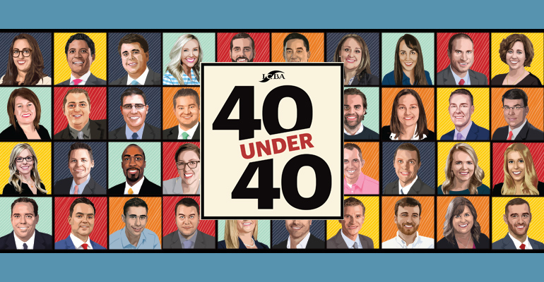 40 Under 40 group image