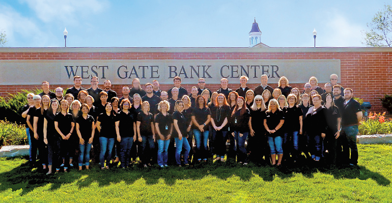 West Gate Bank employees