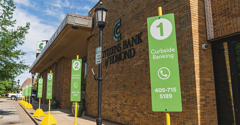 Curbside Banking at Citizens Bank Edmond