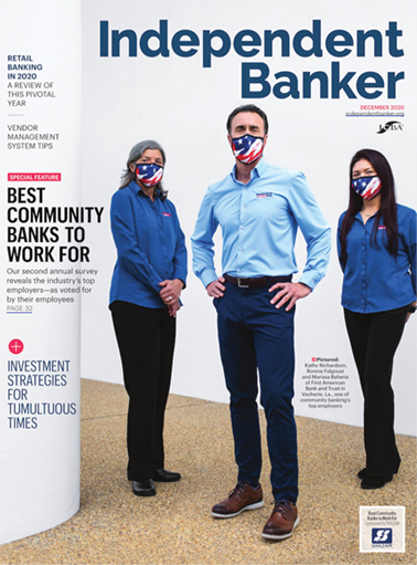 Independent Banker December 2020 cover