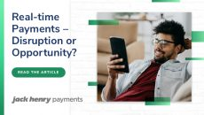 Thumbnail for Real-time payments – disruption or opportunity?